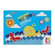 (1015789) картон цветн барх А5 5л 5цв Hobby 110г/м2 в папке 918090-85   3284983