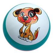 (1015860) Мяч диаметр 125 мм (рисунок) с-75П микс 489119