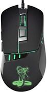 (1014614) Мышь Oklick 865G Snake черный/черный оптическая (2400dpi) USB игровая (5but)