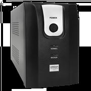 (1012160) ИБП CROWN CMU-850ХIEC USB 850VA/510W, корпус металл, 1x12V/9AH, выходные розетки 4*IEC С13, трансформатор AVR 162-290V, интегрированный кабель 1.2 м, порт USB, LED-индикация, защита батареи от полного разряда, от перегрузки, от КЗ, ПО