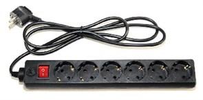 (1014025) Сетевой фильтр 5bites SP6-B-10 6S / 3*0.75MM2 / 1M / BLACK