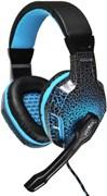 (1014624) Наушники с микрофоном Oklick HS-L400G ZEUS черный 1.8м мониторы (NO-3000 LED)
