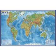(1016746) Интерактивная карта  Мира физическая, 101 х 66 см, 1:35 млн 2295400