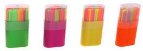 (1016801) Набор счетных палочек 50 штук, в пластиковом пенале, микс 584892