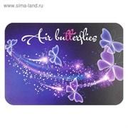 (1016803) Накладка на стол для творчества, пластиковая, 330х230 мм, «Бабочки» 4163573