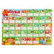 """(1016870) Плакат пиши-стирай """"Алфавит"""" А2   4349856 4349856"""