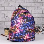 (1016902) Рюкзак молодёжный, отдел на молнии, наружный карман, цвет разноцветный 1661040