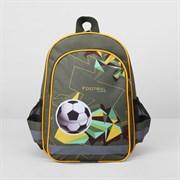 (1016909) Рюкзак школьный, отдел на молнии, 3 наружных кармана, цвет хаки 2362488