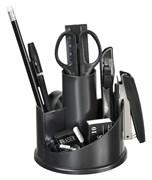 (1016705) Настольный набор Silwerhof (11 предметов) пластик черный
