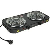 (1018972) Плитка ENERGY EN-904В, 2000 Вт, 2 конфорки, черная 1743806
