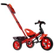 (1019401) Велосипед трехколесный Лучик Vivat 3, цвет красный   3409408