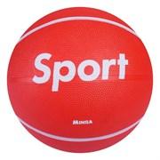 "(1019495) Мяч баскетбольный MINSA ""Sport"" р.7, 500 гр, PVC, камера бутил   3998955"