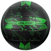 (1019501) Мяч волейбольный ONLITOP р.5, 260 гр, 2 подслоя, 18 панелей, PVC, камера бутил   4166916