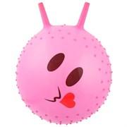 (1019503) Мяч попрыгун с рожками массажный 45 см, 350 гр, цвета микс 439368