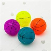 """(1019506) Мяч световой """"Баскетбол"""" 6,5 см, цвета МИКС   3551291"""