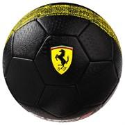 (1019507) Мяч футбольный FERRARI р.5, PVC, цвет черный   3794411