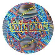 (1019510) Мяч футбольный ONLITOP р.5, 32 панели, 2 подслоя, маш.сшивка, 260 гр
