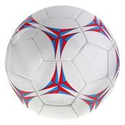 (1019511) Мяч футбольный р.5, 32 панели, 260 гр, 2 подслоя, PVC 415734