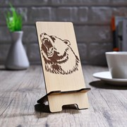 (1019222) Подставка под телефон «Рёв Медведя» 4827173