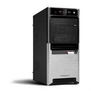 (1006449) Корпус Miditower CROWN CMC-SM164 USB3.0 black/silver ATX (CM-PS450W smart) USB3.0