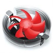 (1011077) Кулер CROWN для процессора CM-91PWM  ( Для Intel и AMD,TDP до 125 Ватт, коннектор 4 pin,PWM,  Низкая посадка радиатора,Гидродинамический подшипник,Размер: 115*110*57 мм)