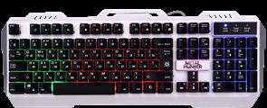 (1016044) Клавиатура USB METAL HUNTER GK-140L RU 45140 DEFENDER