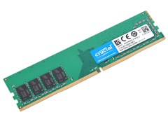 (1016208) Память DDR4 4Gb 2666MHz Crucial CT4G4DFS8266 RTL PC4-21300 CL19 DIMM 288-pin 1.2В kit single rank