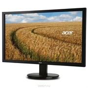 "(1016233) Монитор Acer 19.5"" K202HQLb черный TN+film LED 5ms 16:9 Mat 200cd"