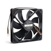 (1016490) Вентилятор Gembird, 120x120x25, гидродинамический, 3 pin, провод 30 см
