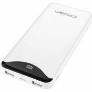 (1016589) Зарядное устройство CMPB-603 white (power bank, 10000mAh, Li-Pol, входы: micro-USB/type-C - выходы: 2*USB(A)+type-C QC3.0, PD18W, цифровой дисплей)