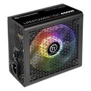 (1016626) Блок питания Thermaltake ATX 450W Litepower RGB 450 (24+4+4pin) APFC PPFC 120mm fan color LED 4xSATA