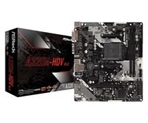 (1017229) Материнская плата Asrock A320M-HDV R4.0 Soc-AM4 AMD A320 2xDDR4 mATX AC`97 8ch(7.1) GbLAN RAID+VGA+DVI+HDMI