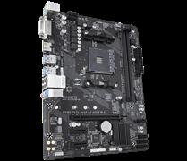 (1014793) Материнская плата Gigabyte GA-A320M-H Soc-AM4 AMD A320 2xDDR4 mATX AC`97 8ch(7.1) GbLAN RAID+DVI+HDMI