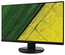 "(1017462) Монитор ACER 27"" K272HULEbmidpx 27""(16:9) TN+Film(LED) ZF 2560x1440 1ms 350nits 1000:1 DVI (Dual Link) + HDMI + DP + Audio Out 2Wx2 Black Glossy VESA 100x100 (UM.HX2EE.E01)"