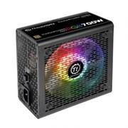 (1017726) Блок питания Thermaltake ATX 700W Toughpower GX1 RGB 80+ gold (24+4+4pin) APFC 120mm fan color LED 8 (PS-TPD-0700NHFAGE-1)