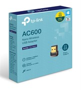 (1017691) Сетевой адаптер WiFi TP-Link Archer T2U NANO USB 2.0 (ант.внутр.) 1ант.