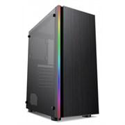 (1018420) Корпус Formula CL-3302B RGB черный без БП ATX 2xUSB2.0 1xUSB3.0 audio bott PSU