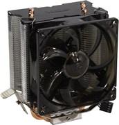 (1018034) PCCooler S90F Кулер PCCooler S90F S775/115X/AM2/2+/AM3/3+/AM4/FM1/FM2/2+ (32 шт/кор, TDP 135W, вент-р 90мм с PWM, 4 тепловые трубки 6мм, 1200-2200RPM, 22dBa)