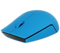 (1018716) Мышь Lenovo 500 синий оптическая (1000dpi) беспроводная USB (3but)