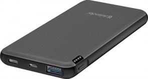 (1018915) Внешний аккумулятор ExtraLife Fast 10000D USB: QC3.0, Type-C/PD,10000mAh DEFENDER