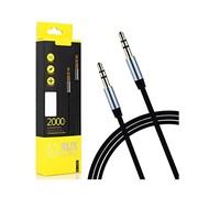 (1019102) Аудио кабель AUX Remax RL-L200 2m, black
