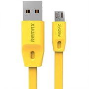 (1019085) USB кабель micro REMAX Full Speed (1m) yellow