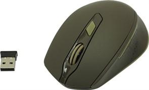 (1019027) Беспроводная оптическая мышь Defender Genesis MM-785 коричневый,6 кнопок,2400 dpi