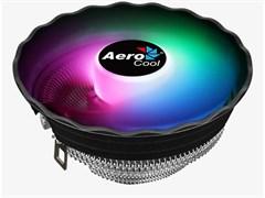 (1019342) Кулер CPU Aerocool Air Frost Plus (универсальный, 110W, 24.2 dB, 1500 rpm, 120мм, 3pin, подсветка, алюминий) RTL
