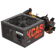 (1019330) Блок питания Aerocool ATX 800W KCAS-800W PLUS 80+ bronze (24+4+4pin) APFC 120mm fan 7xSATA RTL