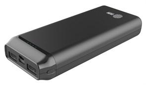 (1018918) Мобильный аккумулятор Cactus CS-PBFSST-20000 Li-Pol 20000mAh 2A+2.4A графит 2xUSB