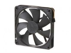 (1019373) Вентилятор Gembird, 120x120x25, гидрод., тихий, 3 pin/4pin Molex, провод 30 см