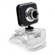 (1019354) Вебкамера CBR CW834M Black, универс. крепление, 4 линзы, эффекты, микрофон