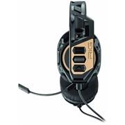 (1019685) Наушники с микрофоном Plantronics RIG 300 черный/золотистый 1.5м мониторные (211834-05)