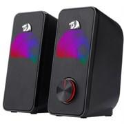 (1019689) Акустическая 2.0 система Stentor черный, 6 Вт, питание от USB Redragon